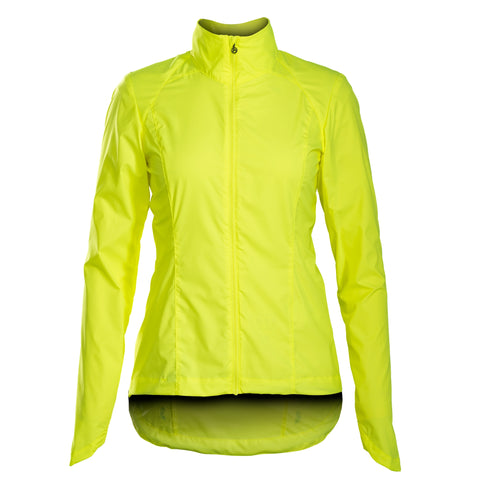 Jacket Bontrager Vella Windshell Womens M Visibility Yellow