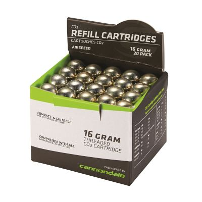 Cannondale CO2 16g Cartridge 20 Pack