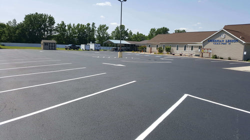 Example parking asphalt