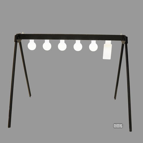 C-27 Auto Reset Centerfire Steel Plate Rack - Qualification Targets Inc
