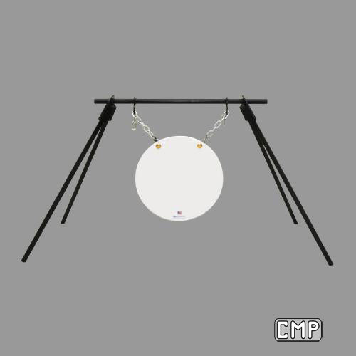 "C-31 Gong Frame and 16"" Steel Target - Qualification Targets Inc"