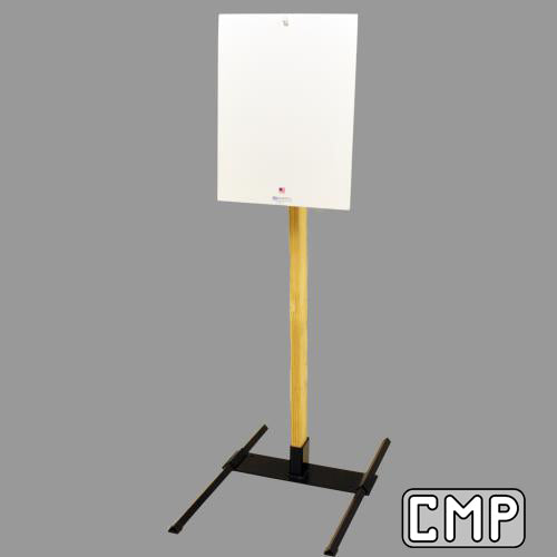 "C-36 Steel Challenge Target 18"" x 24"" Rectangle - Qualification Targets Inc"