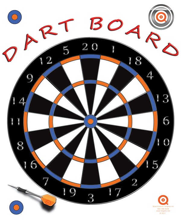 Dart Board - Qualification Targets Inc