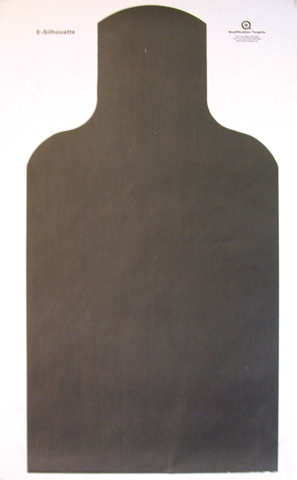 E-SILHOUETTE - Paper Target