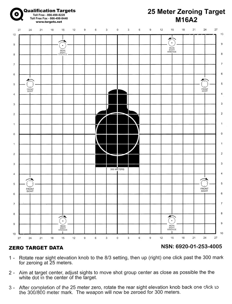 M16A2 - Qualification Targets Inc