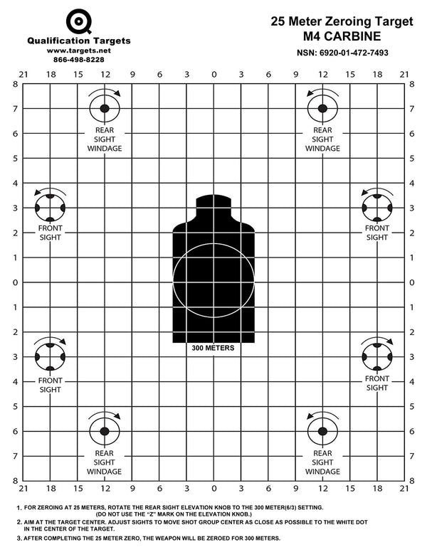 M4 Carbine - Qualification Targets Inc