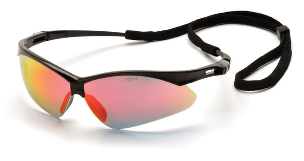 PMXTREME Safety Glasses - Ice Orange - Qualification Targets Inc