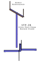 STP-2R Target Stand - Qualification Targets Inc