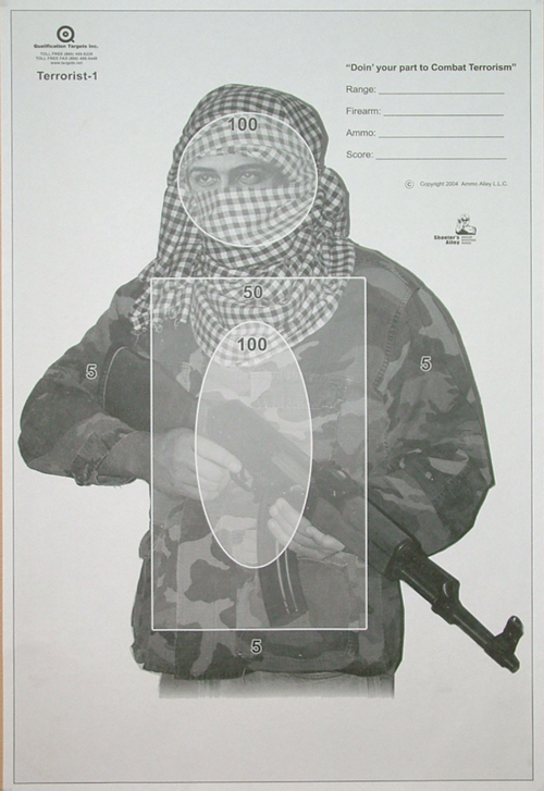 TERRORIST-1 - Qualification Targets Inc