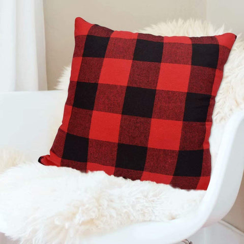 Image of Buffalo Plaid Throw Pillow