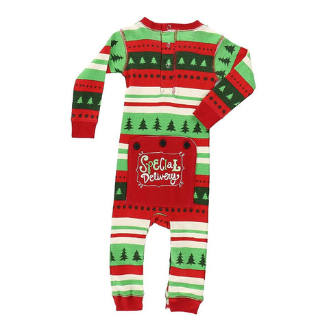 Image of Special Delivery Flapjack Infant Onesie