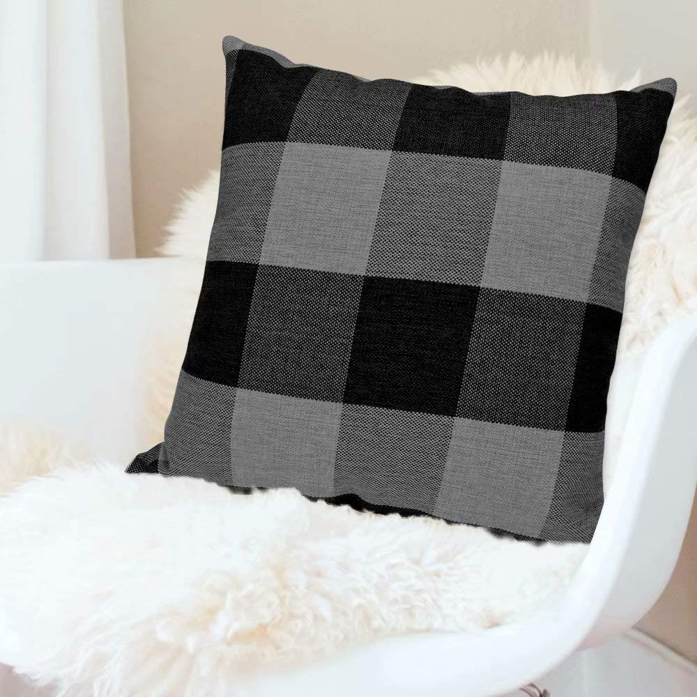 FREE - Buffalo Plaid Throw Pillow
