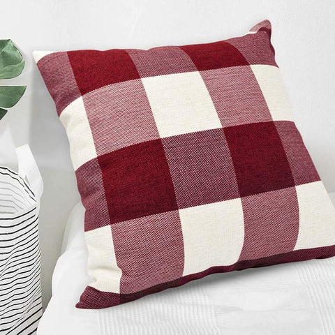 Image of FREE - Buffalo Plaid Throw Pillow