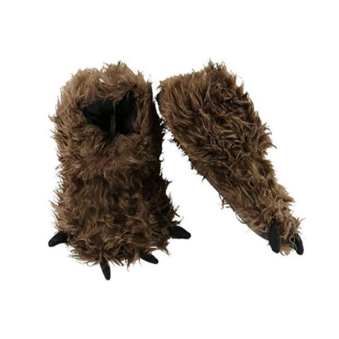Image of Animal Paw Slippers for Kids and Adults