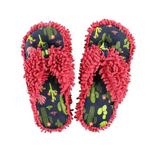 Spa Flip Flop Fuzzy Slippers Stuck in Bed Spa Slippers