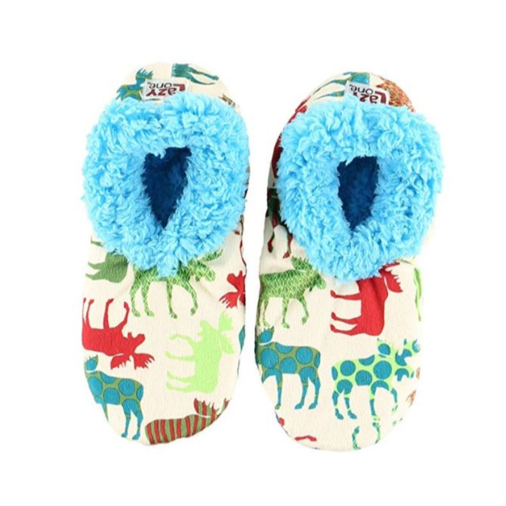 Family Matching Christmas | Pattern Moose Fuzzy Feet