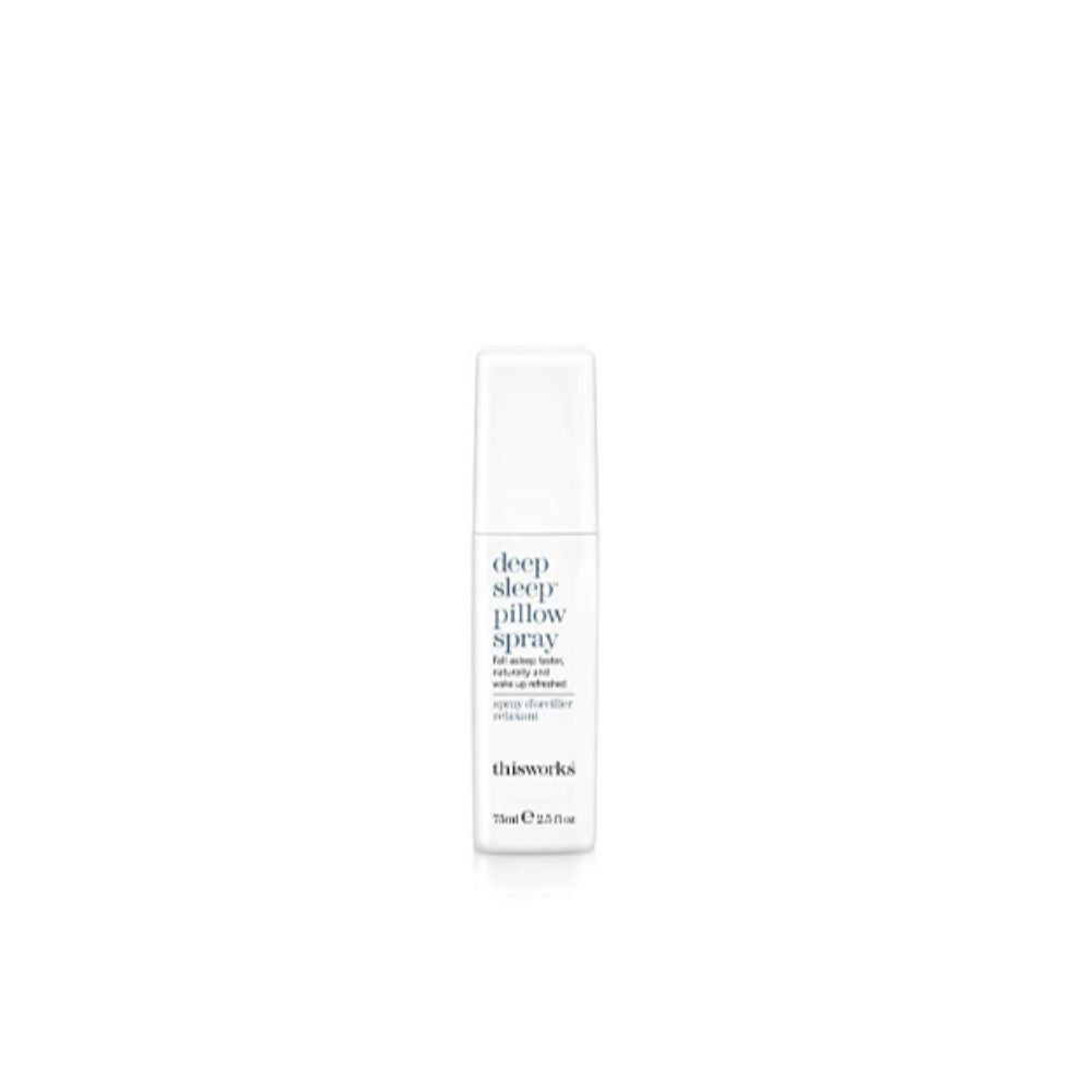 ThisWorks Deep Sleep Pillow Spray - Natural Sleep Aid with Essential Oils of Lavender, Vetivert and Chamomile