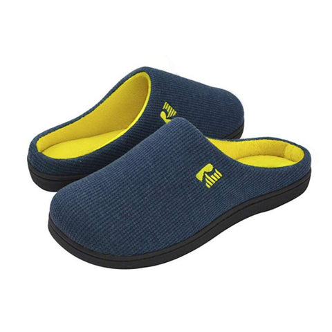 Image of RockDove Men's Original Two-Tone Memory Foam Slipper