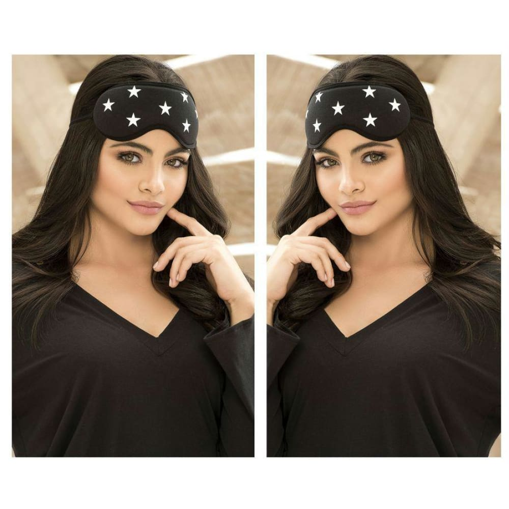 Eye Mask - Black / Only Size - Lingerie