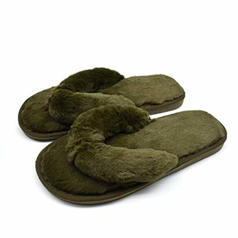 Image of Women's Soft Flip-Flop Slippers