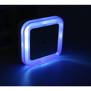 LED Light Sensor Kids Bedside Nite Light - Blue