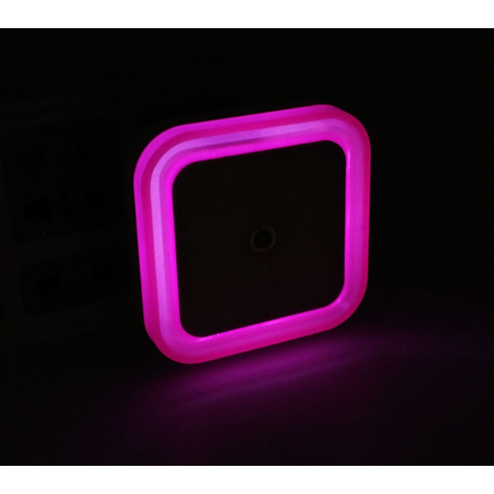LED Light Sensor Kids Bedside Nite Light - Pink