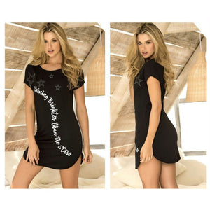 Sleep Dress - Black / S - Lingerie