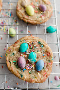 Easter Funfetti Cookies - Regular Size