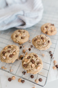 PBCC (Peanut Butter Cookies with Sea Salt Caramel & Milk Chocolate) - Mini Size