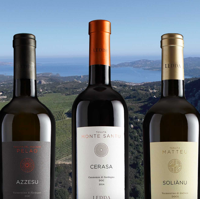 Sardinian Wines and Spirits