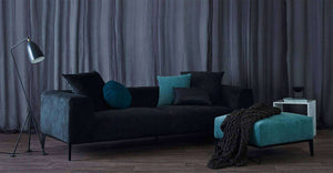 Danielle 2 and 4 Seater Sofa - Charcoal