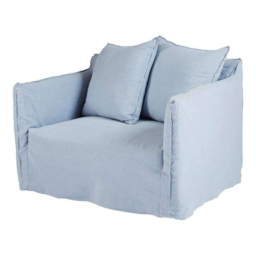 Cover Only - Bronte Love Seat - Blue