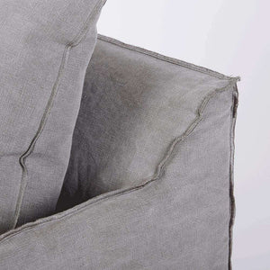 Cover Only - Bronte Armchair - Stone