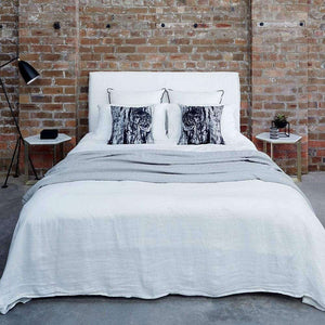 Cover Only - Bronte Bed Head - White