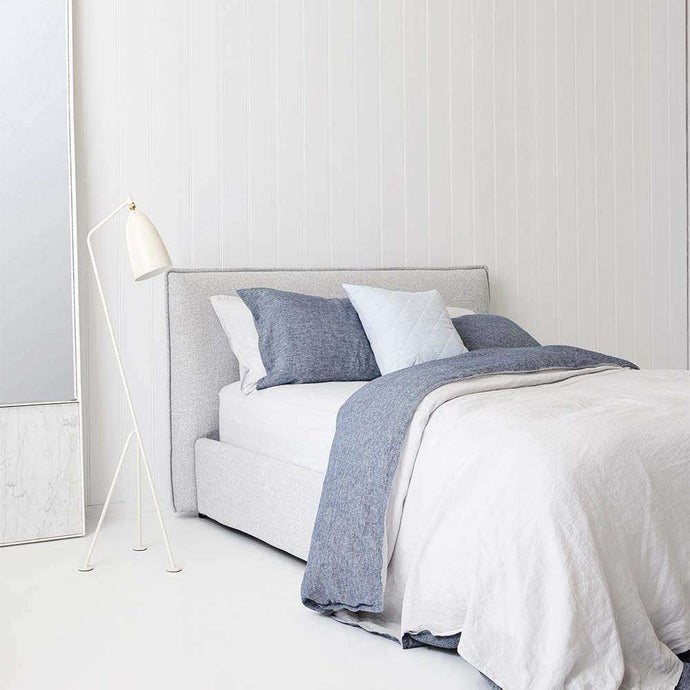 Everything Bed Linen Set - Denim/Mist