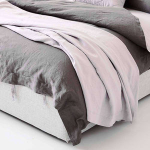 Everything Bed Linen Set - Orchid/Storm