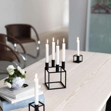 Load image into Gallery viewer, Kubus 1 Candleholder- Black