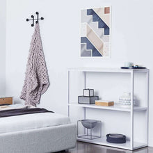 Load image into Gallery viewer, Max White Bookcase- Italian Marble