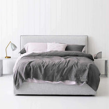 Load image into Gallery viewer, Everything Bed Linen Set - Orchid/Storm