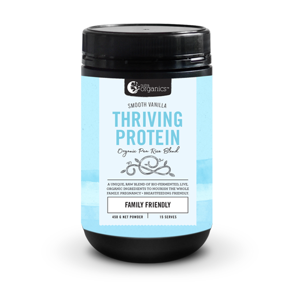Smooth Vanilla Thriving Protein Powder 450G