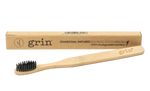 Grin charcoal infused natural toothbrush