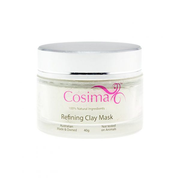 Natural Clay Face Mask 40g Cosima