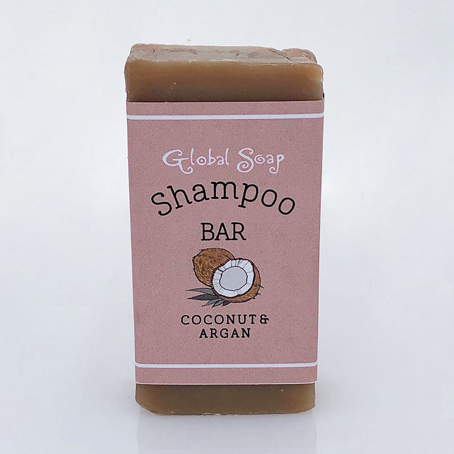 Coconut and Argan Shampoo Bar