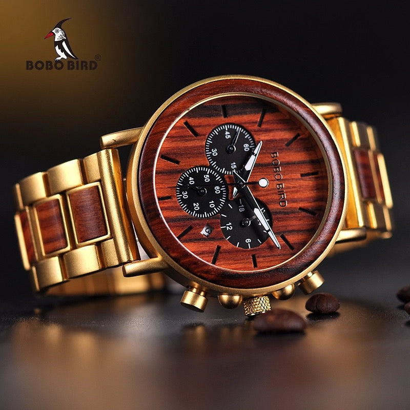Bobo Bird Mens Watch