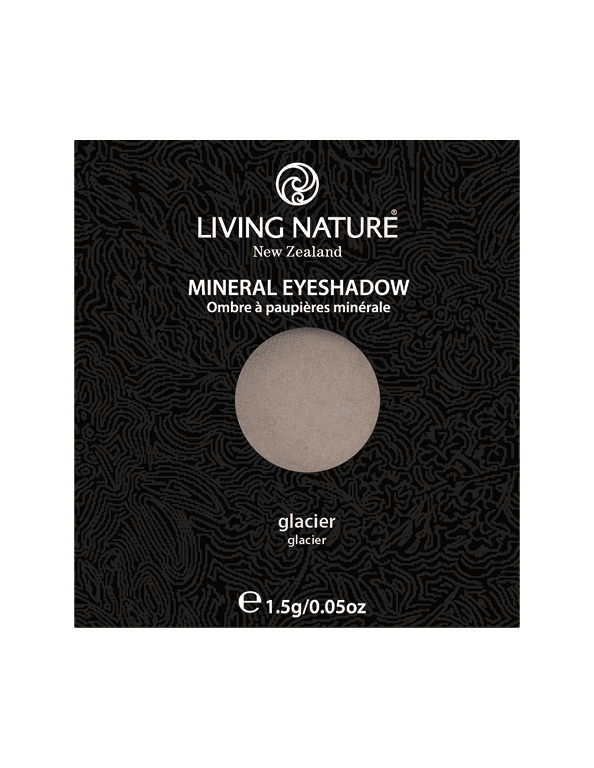 Natural Eyeshadow Grey Glacier Living Nature Mineral