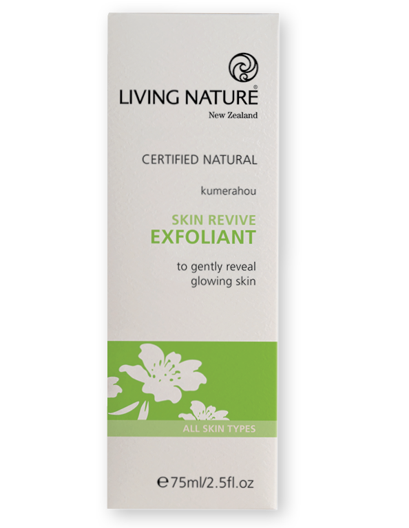 Living Nature Skin Revive Exfoliant 75ml