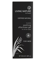Natural aftershave gel