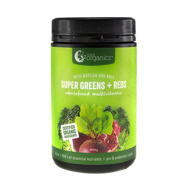 super greens and reds wholefood powder
