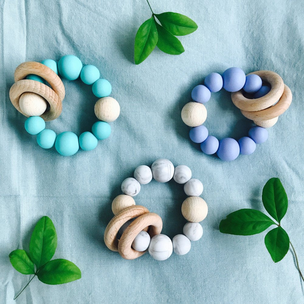 Wooden Trinity Teether for Baby
