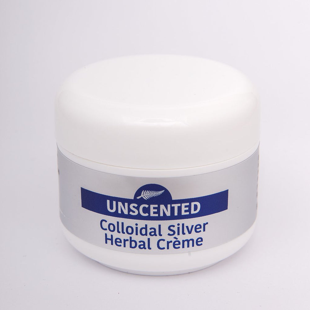 Colloidal Silver Herbal Creme - Unscented 50g